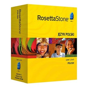 Rosetta Stone Polish Level 1, 2, 3 Set key