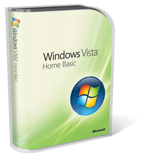 Microsoft Windows Vista Home Basic With SP2 key